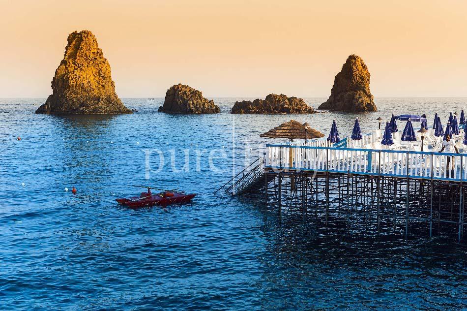 Villen mit Pool und Meerblick am Ätna   Pure Italy - 58
