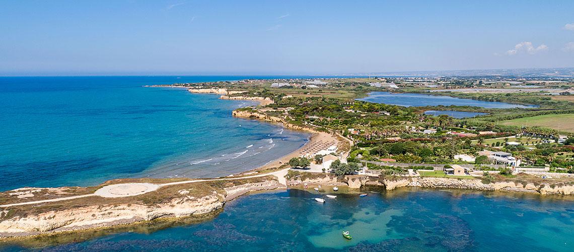Baia del Mar Sizilien Strandvilla zur Miete bei Ispica  - 1