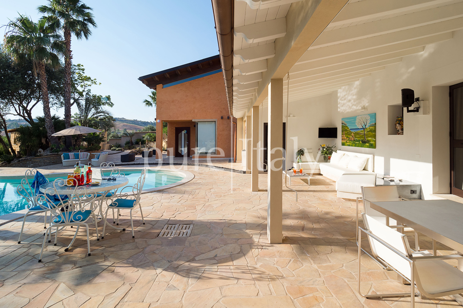 Villas with pool and wellness area, Sicily's south coast|Pure Italy - 20