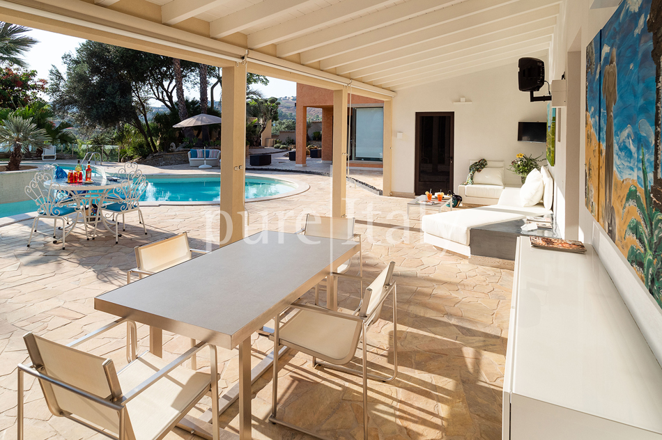Villas with pool and wellness area, Sicily's south coast|Pure Italy - 21