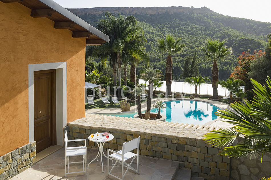 Villas with pool and wellness area, Sicily's south coast|Pure Italy - 47
