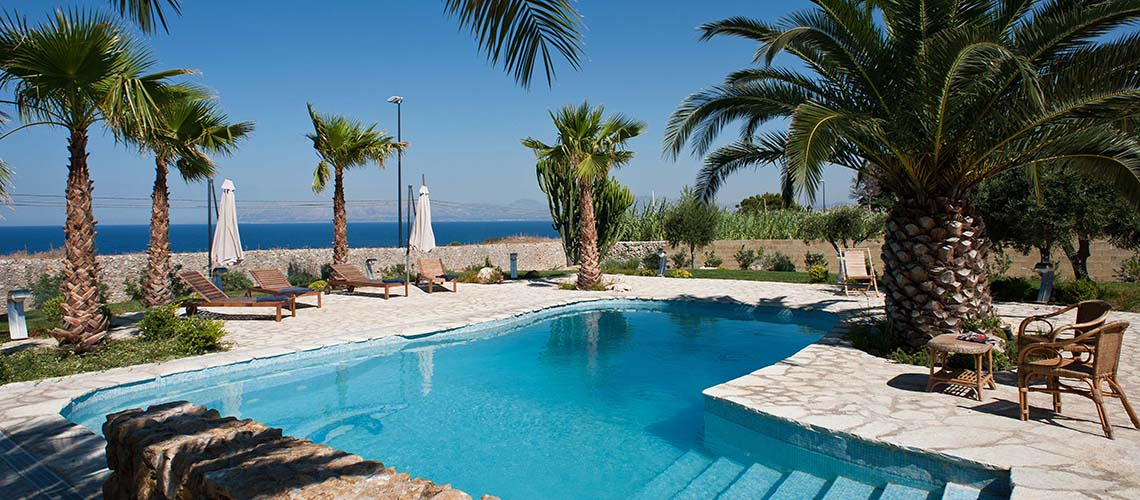 Cialoma Sea View Villa with Pool for rent in Scopello Sicily - 1