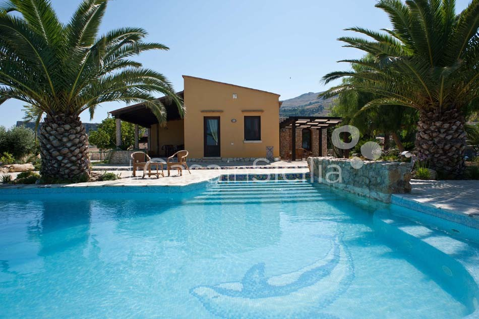 Cialoma Sea View Villa with Pool for rent in Scopello Sicily - 5