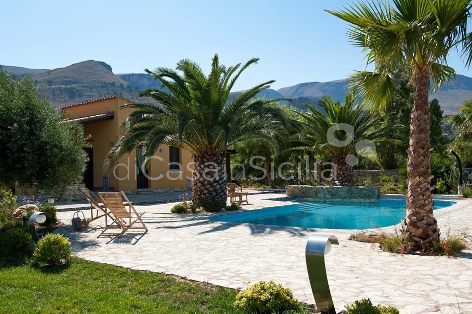 Cialoma Sea View Villa with Pool for rent in Scopello Sicily - 9