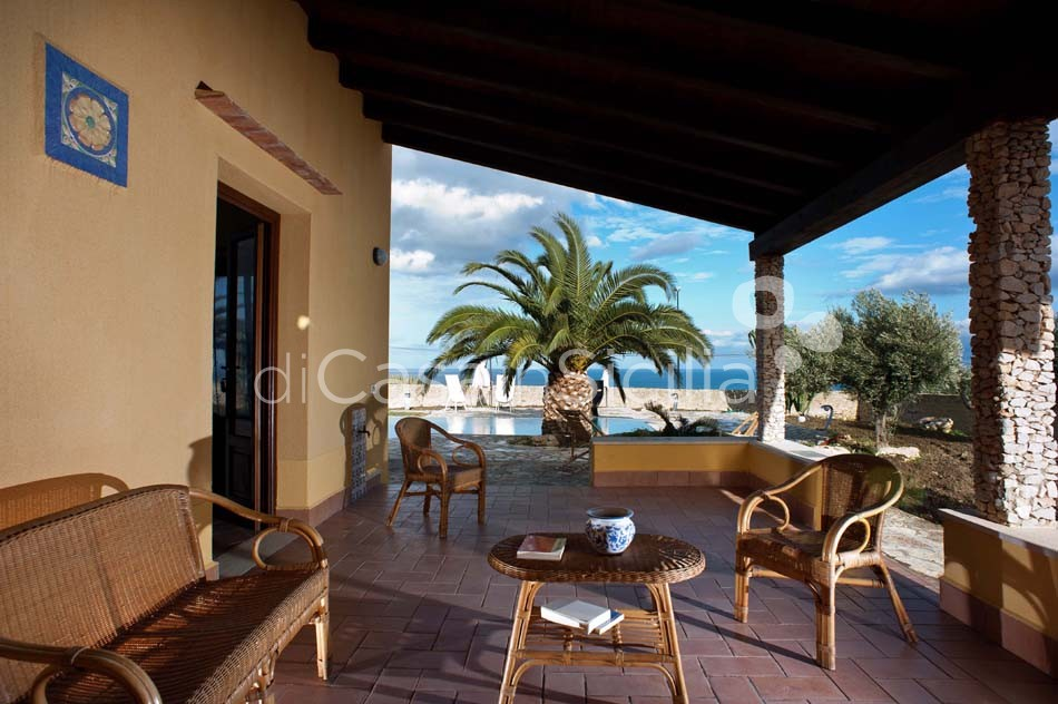 Cialoma Sea View Villa with Pool for rent in Scopello Sicily - 13