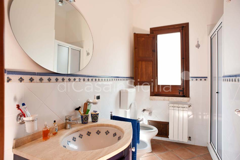 Cialoma Sea View Villa with Pool for rent in Scopello Sicily - 24