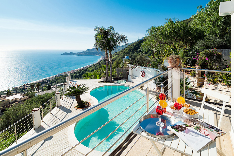 Villa Luce Sea View Luxury Villa with Pool for rent Taormina Sicily - 5