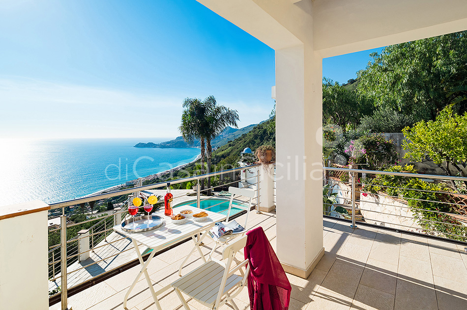 Villa Luce Sea View Luxury Villa with Pool for rent Taormina Sicily - 6