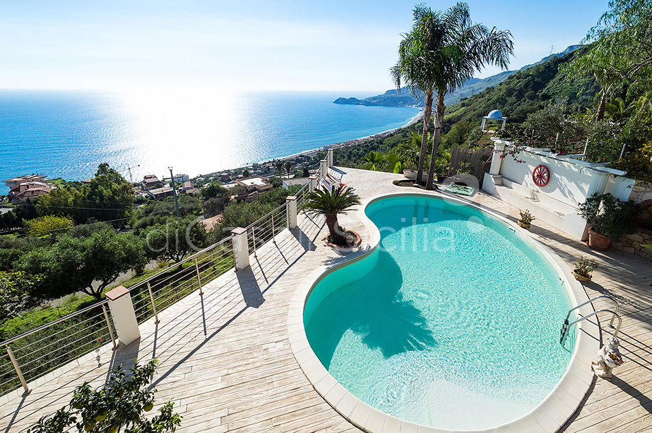 Villa Luce Sea View Luxury Villa with Pool for rent Taormina Sicily - 7