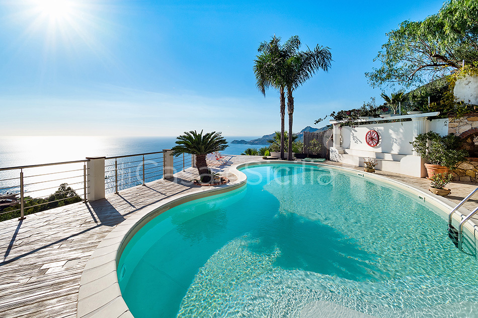 Villa Luce Sea View Luxury Villa with Pool for rent Taormina Sicily - 11