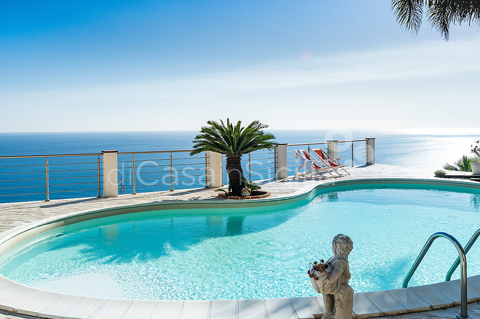Villa Luce Sea View Luxury Villa with Pool for rent Taormina Sicily - 12