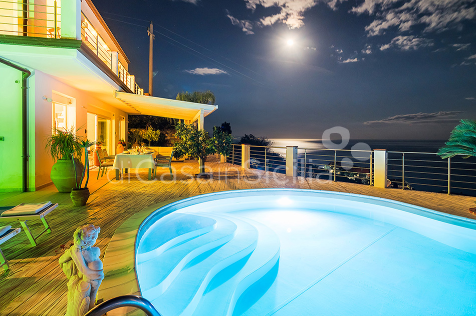 Villa Luce Sea View Luxury Villa with Pool for rent Taormina Sicily - 19