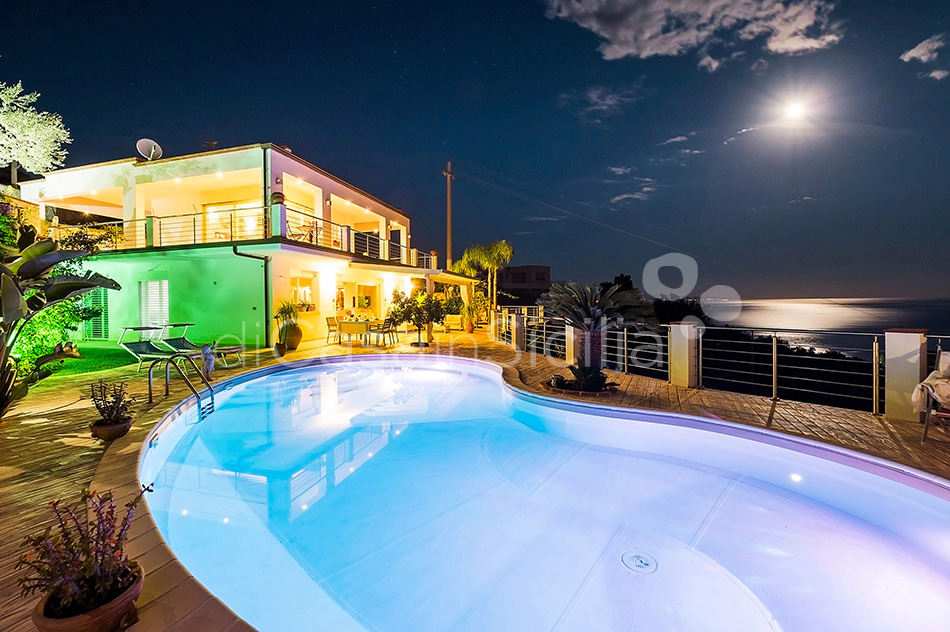 Villa Luce Sea View Luxury Villa with Pool for rent Taormina Sicily - 20
