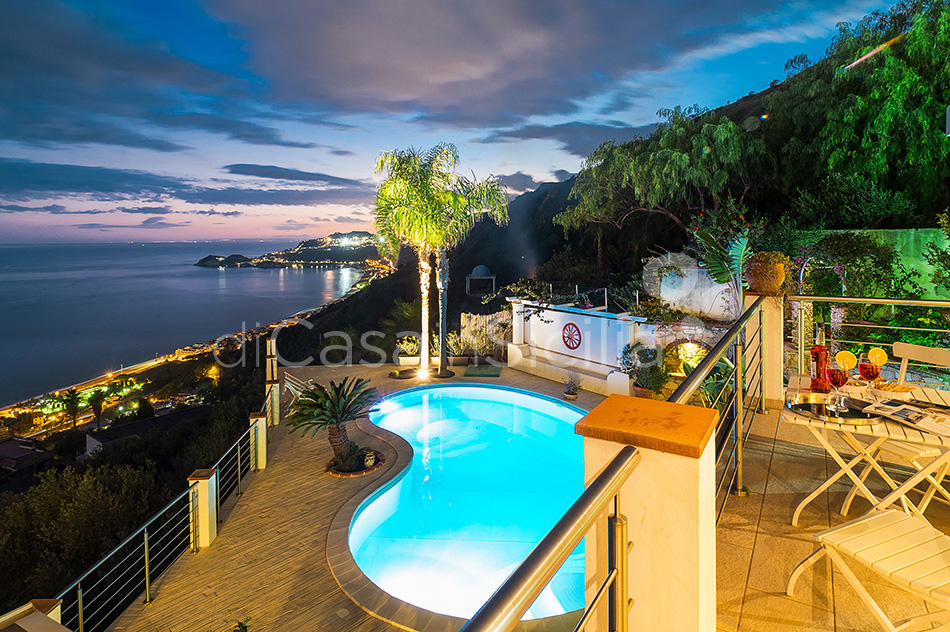 Villa Luce Sea View Luxury Villa with Pool for rent Taormina Sicily - 22