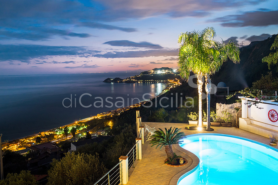 Villa Luce Sea View Luxury Villa with Pool for rent Taormina Sicily - 23