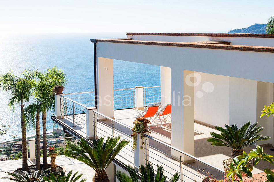 Villa Luce Sea View Luxury Villa with Pool for rent Taormina Sicily - 54