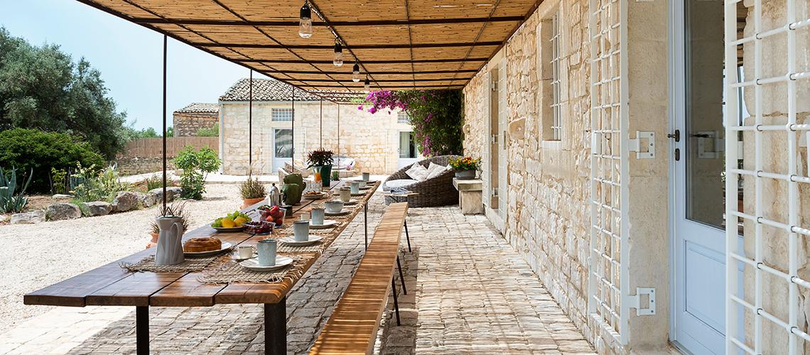 Dimora Pura Familienvilla mit Infinity Pool zur Miete Scicli Sizilien - 1