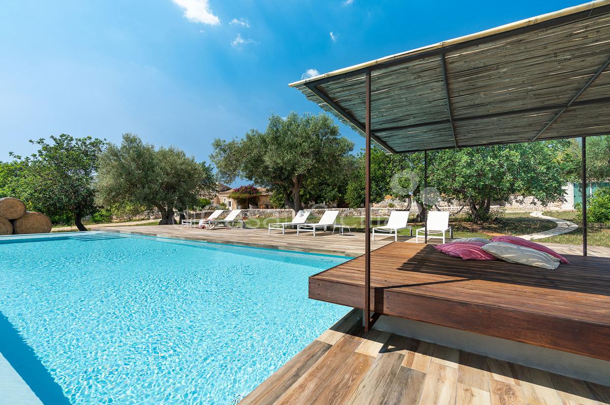 Dimora Pura Familienvilla mit Infinity Pool zur Miete Scicli Sizilien - 13