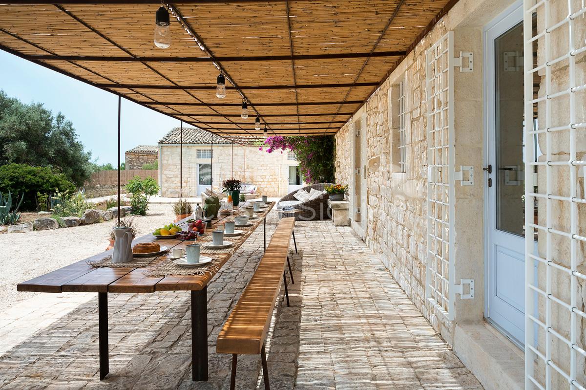 Dimora Pura Familienvilla mit Infinity Pool zur Miete Scicli Sizilien - 22