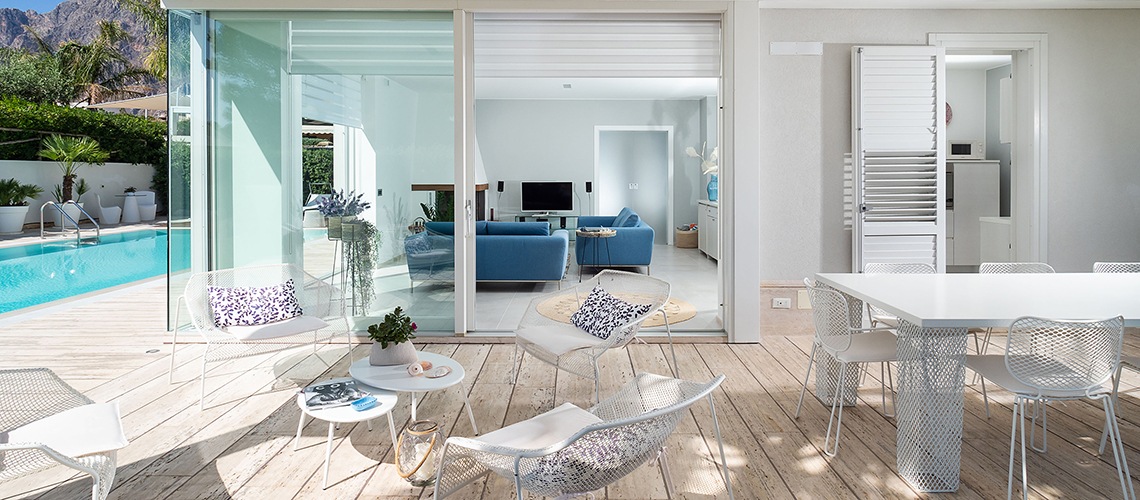 Villa Bellini Designer Villa zur Miete mit Pool in Cornino Sizilien - 49