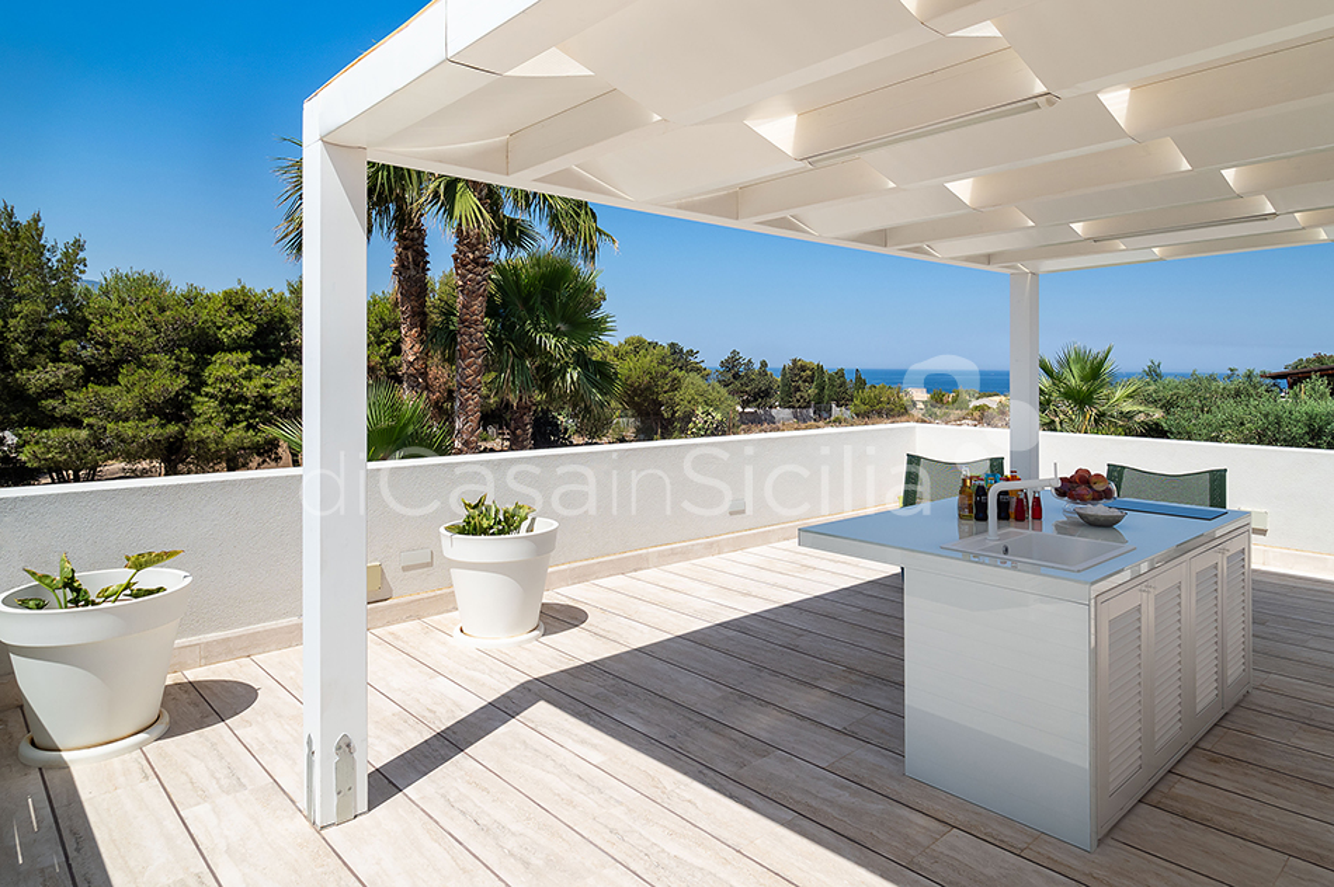 Villa Bellini Designer Villa zur Miete mit Pool in Cornino Sizilien - 56