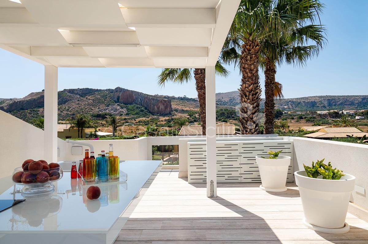 Villa Bellini Designer Villa zur Miete mit Pool in Cornino Sizilien - 57