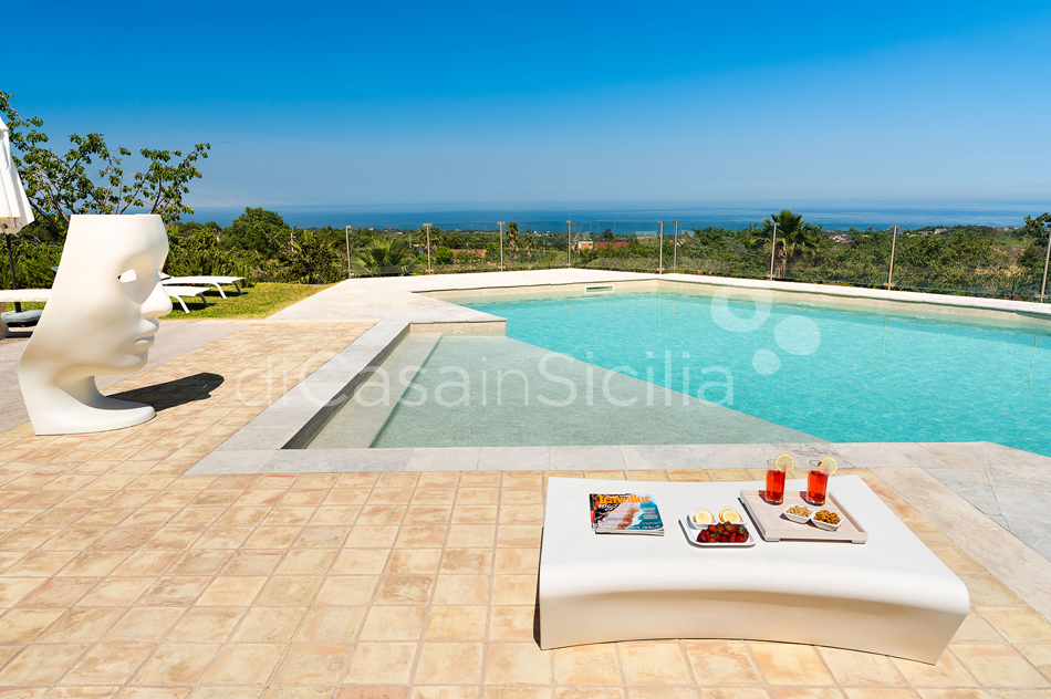 La Torretta Luxury Villa with Pool and Spa for rent Mount Etna Sicily - 9