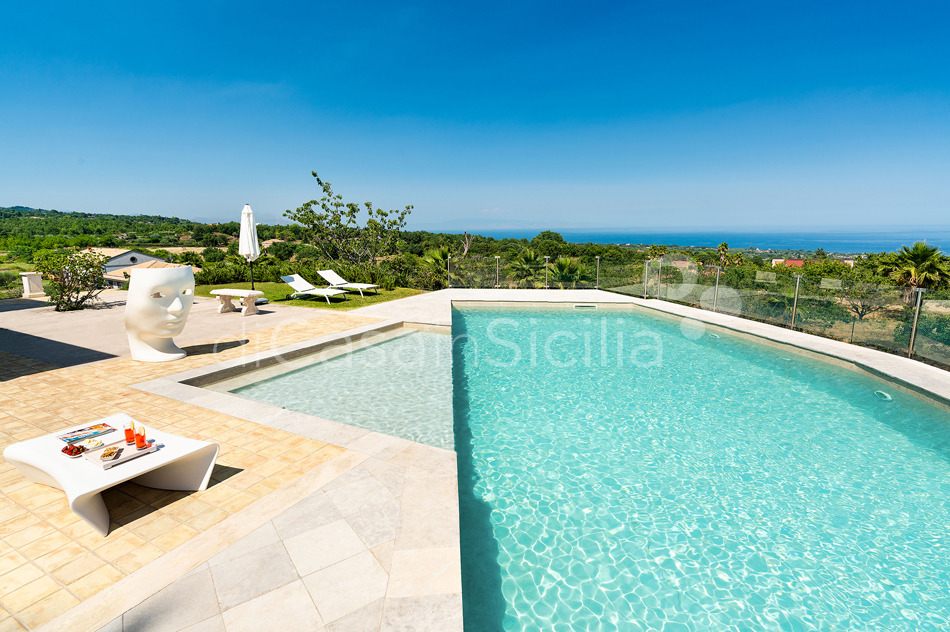 La Torretta Luxury Villa with Pool and Spa for rent Mount Etna Sicily - 11