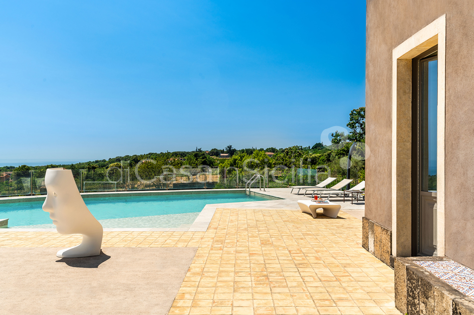 La Torretta Luxury Villa with Pool and Spa for rent Mount Etna Sicily - 13