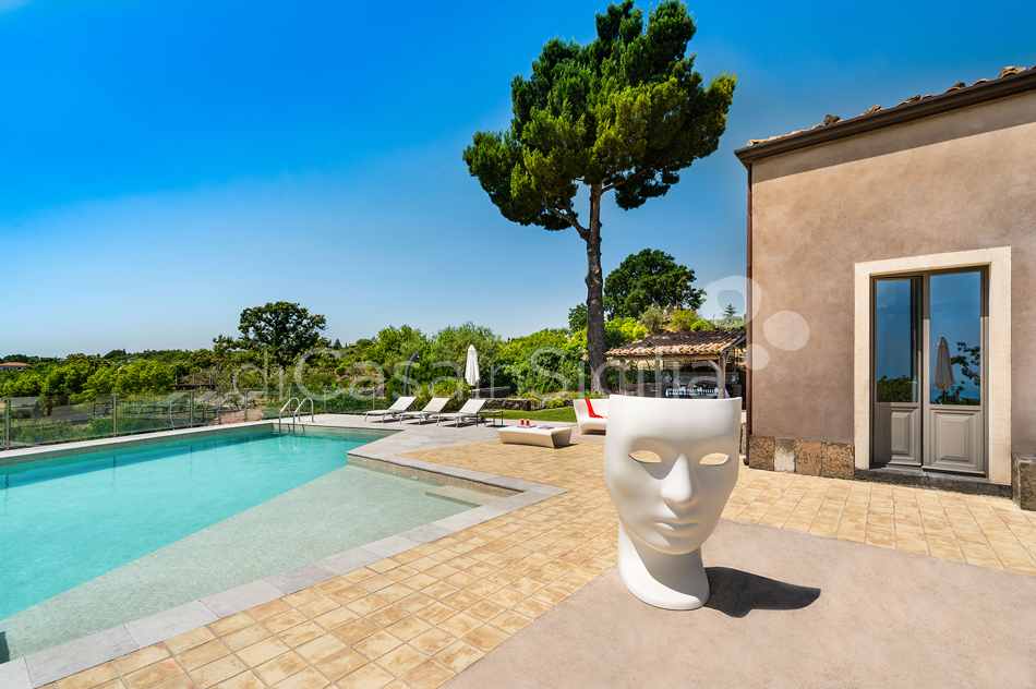 La Torretta Luxury Villa with Pool and Spa for rent Mount Etna Sicily - 14