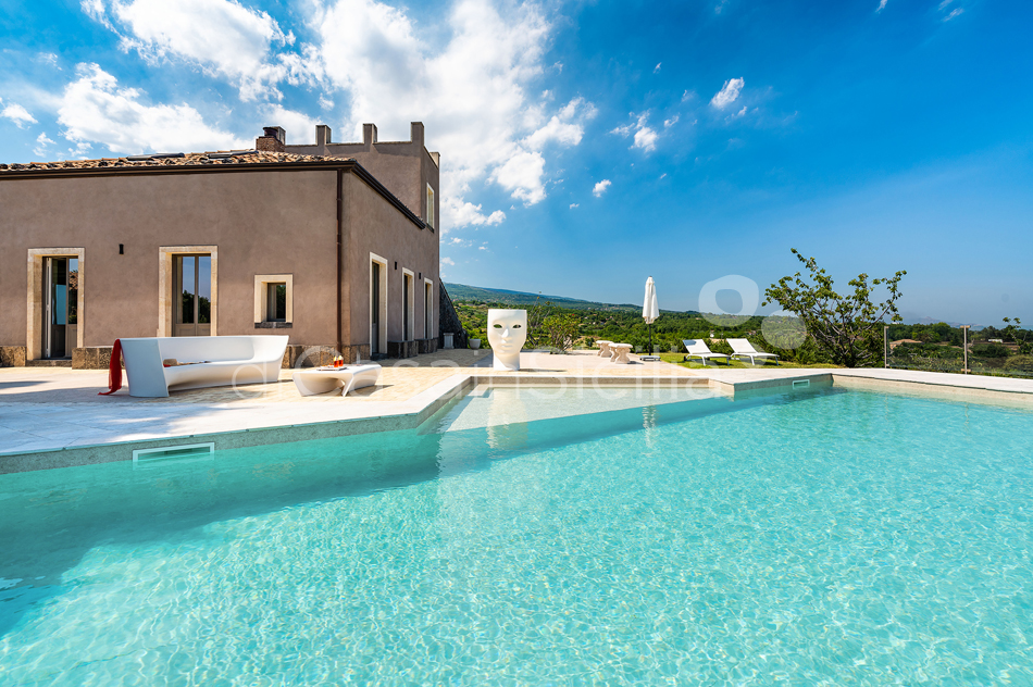 La Torretta Luxury Villa with Pool and Spa for rent Mount Etna Sicily - 18