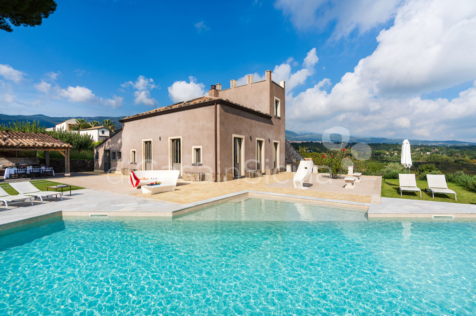 La Torretta Luxury Villa with Pool and Spa for rent Mount Etna Sicily - 19