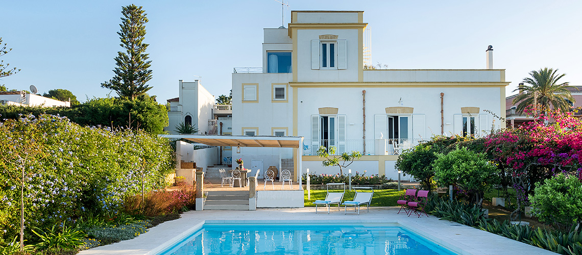 Il Giardino Ritrovato Luxury Villa with Pool for rent Marsala Sicily - 0