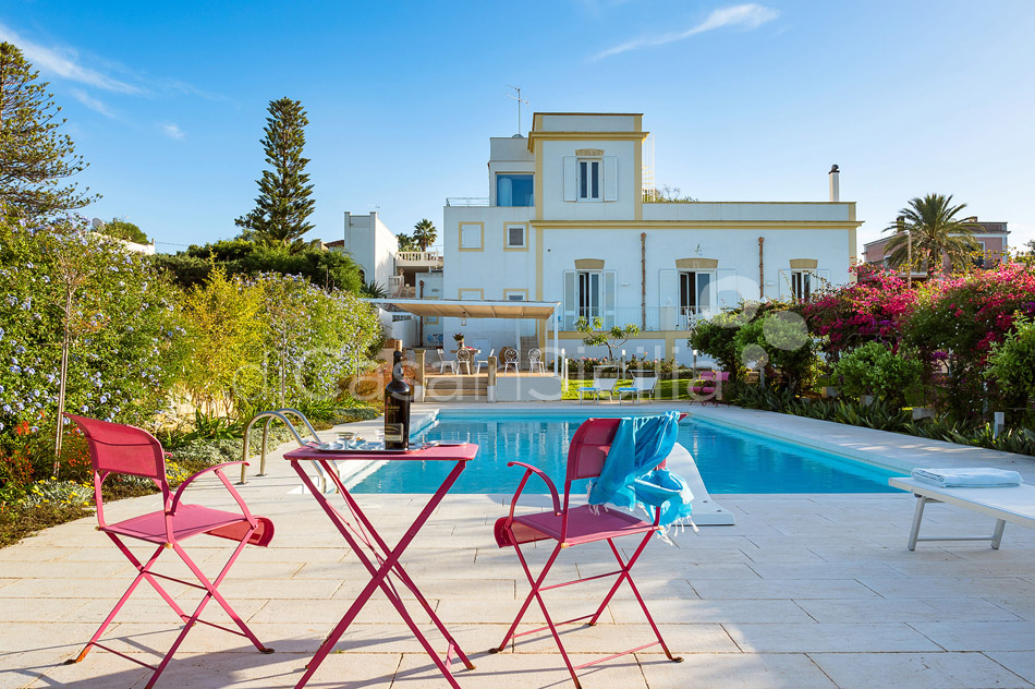 Il Giardino Ritrovato Luxury Villa with Pool for rent Marsala Sicily - 9