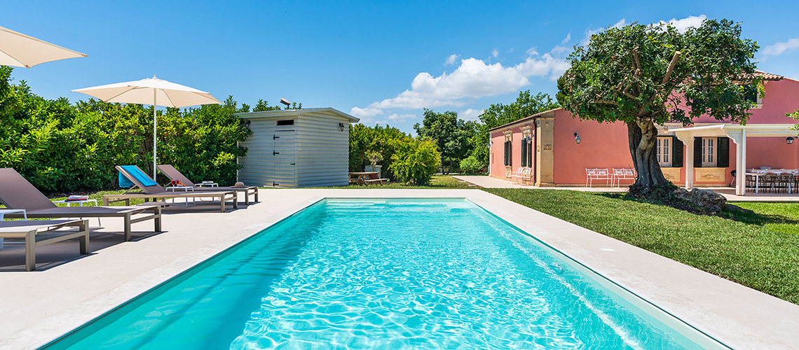 Gira Sole Sicily Villa Rental with Pool by the Beach Fontane Bianche - 54