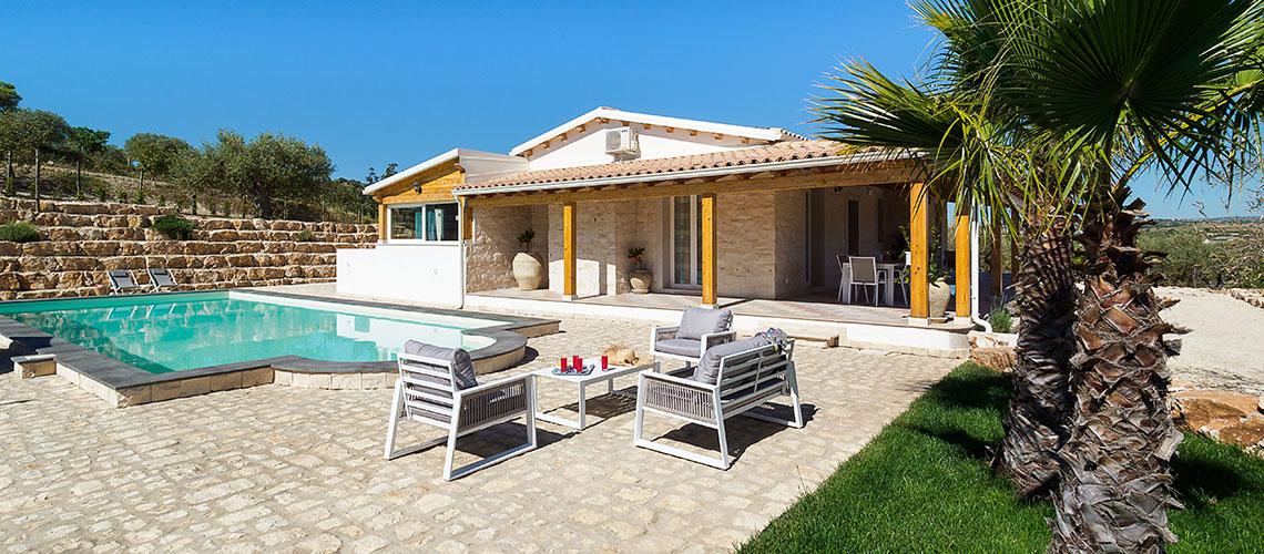 Villa Kika Villa con Piscina e Giardino in affitto vicino Noto Sicilia - 0