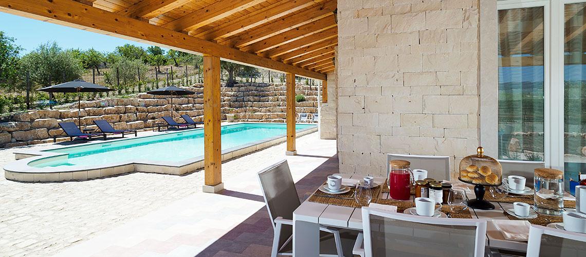 Villa Kika Villa con Piscina e Giardino in affitto vicino Noto Sicilia - 1