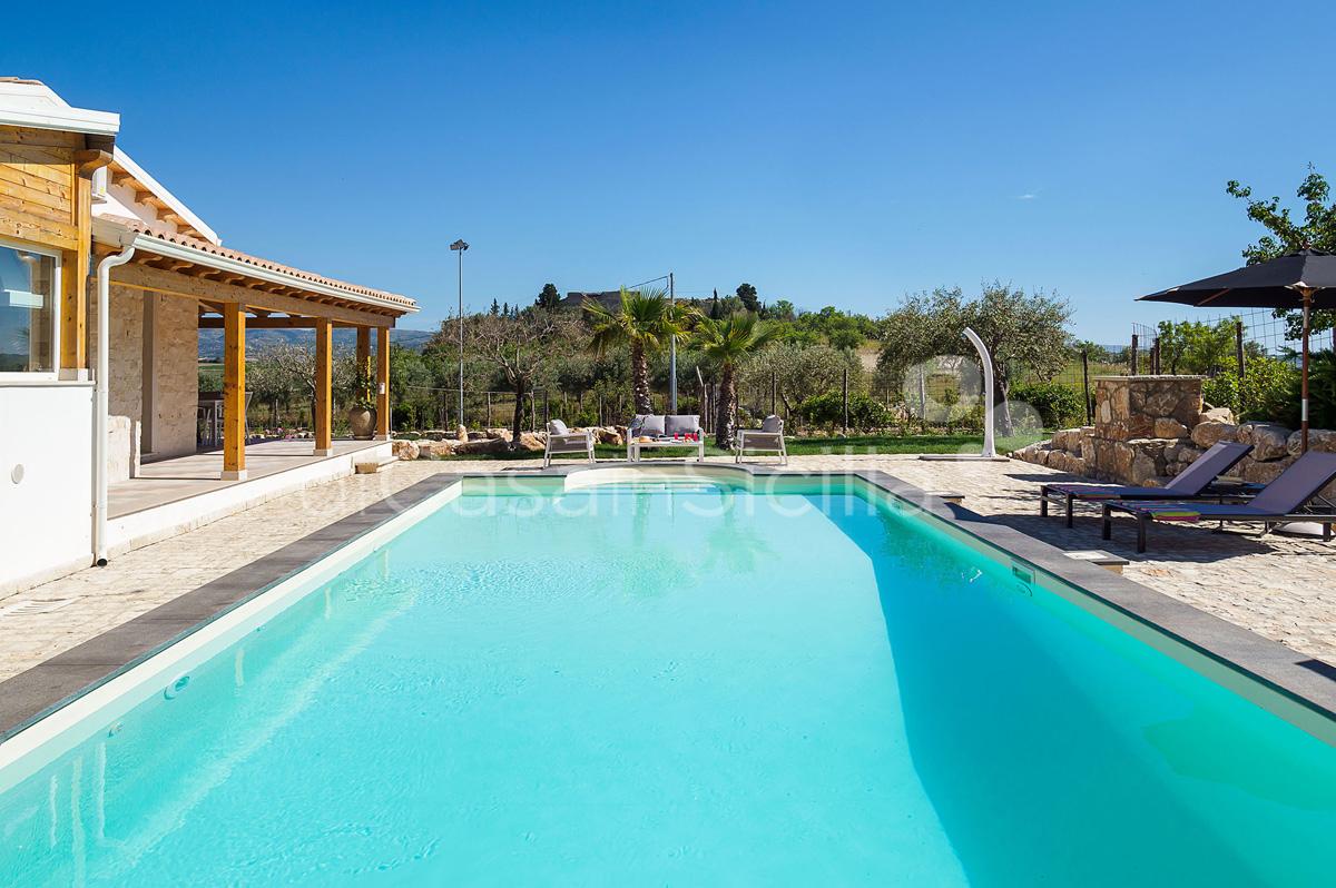 Villa Kika Villa con Piscina e Giardino in affitto vicino Noto Sicilia - 11