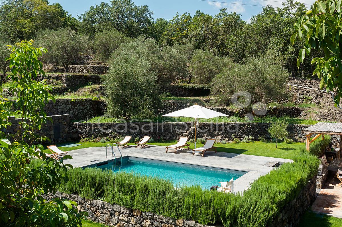 Nerello Mascalese Villa con Piscina in affitto Randazzo Etna Sicilia - 14
