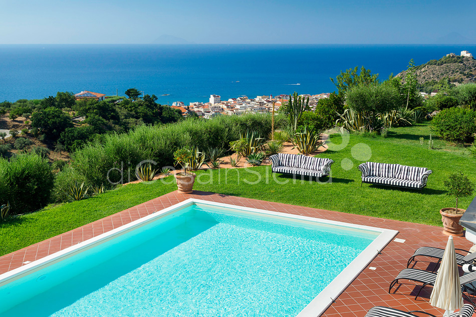 Estella Sicily Luxury Villa with Pool for rent near Capo D'Orlando - 0