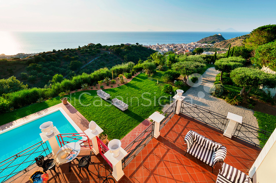 Estella Sicily Luxury Villa with Pool for rent near Capo D'Orlando - 9