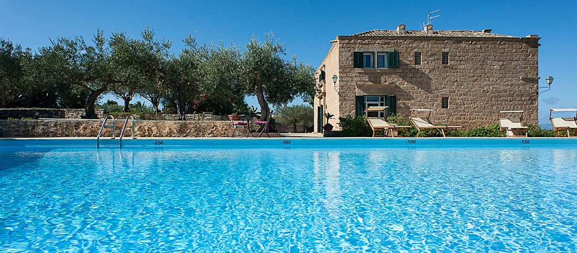 Corte del Sale Sicily Villa Rental with Pool near Trapani Sicily - 0