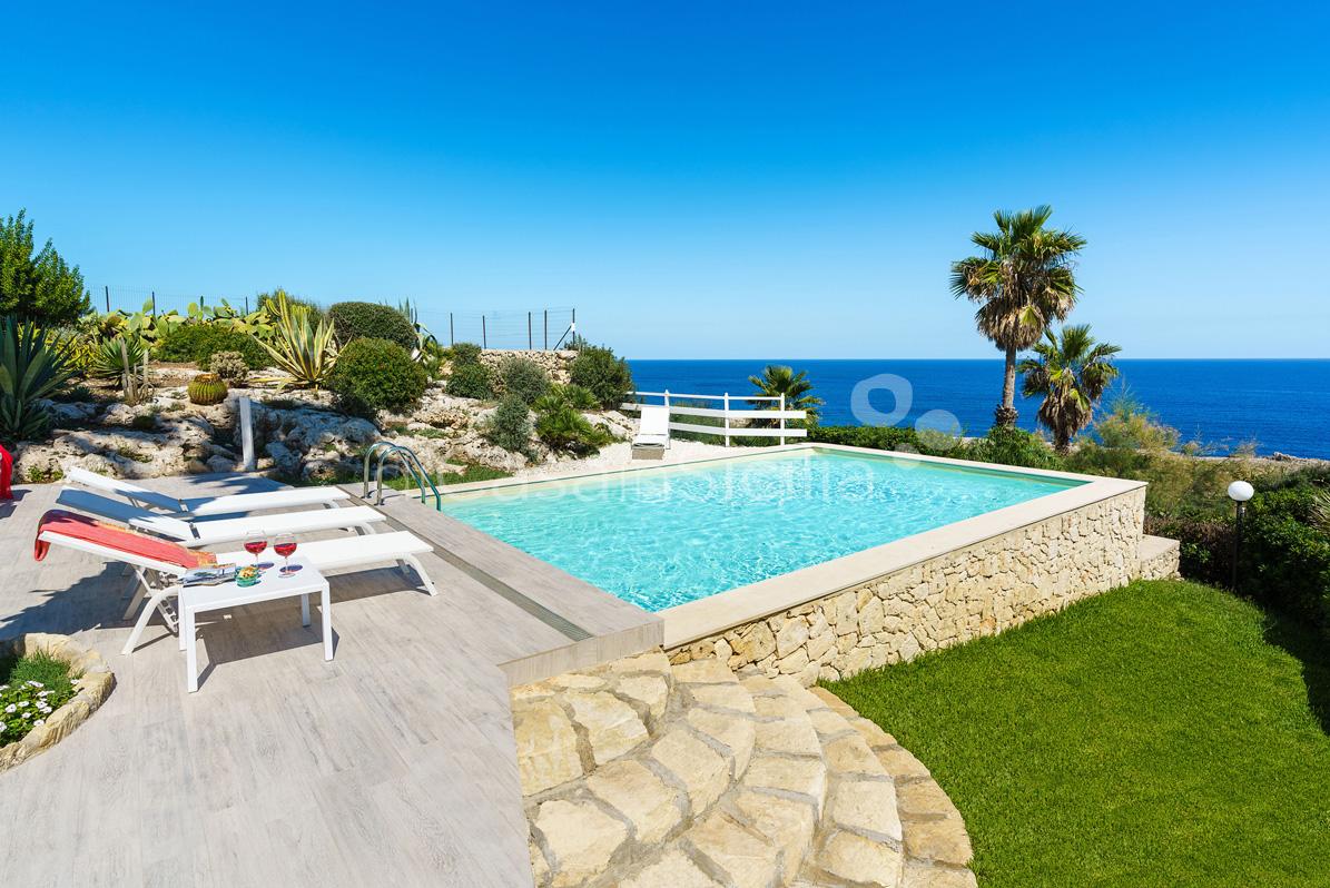 Villa del Mito Villa Fronte Mare con Piscina in affitto Siracusa Sicilia - 10