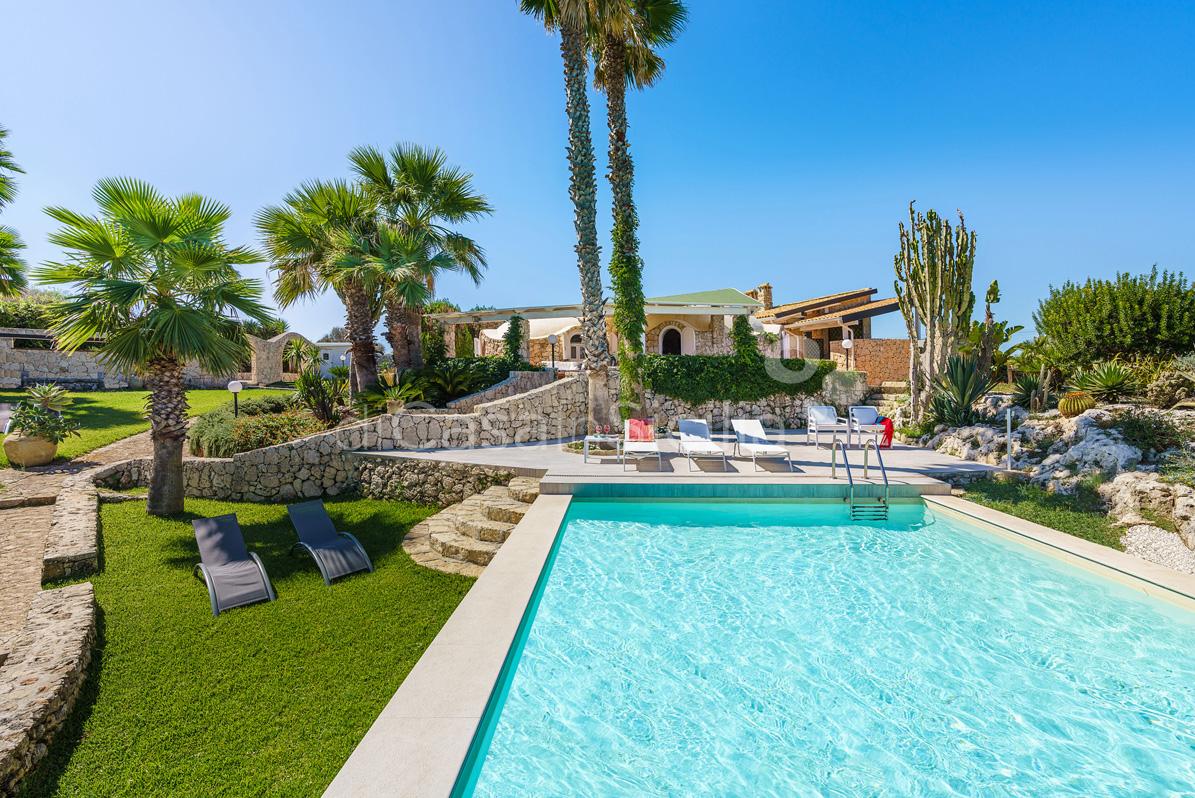 Villa del Mito Villa Fronte Mare con Piscina in affitto Siracusa Sicilia - 15