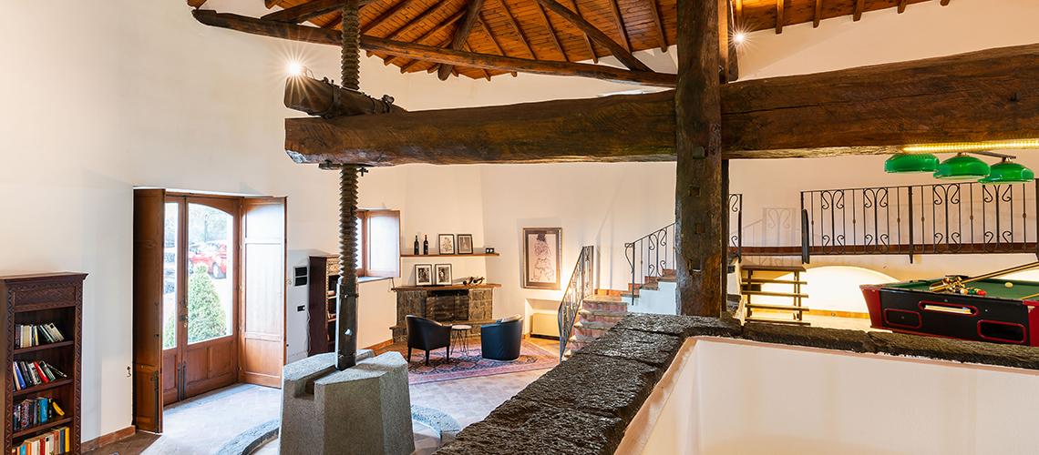 Palmento La Rosa Villa con Piscina in affitto sull'Etna Sicilia - 68