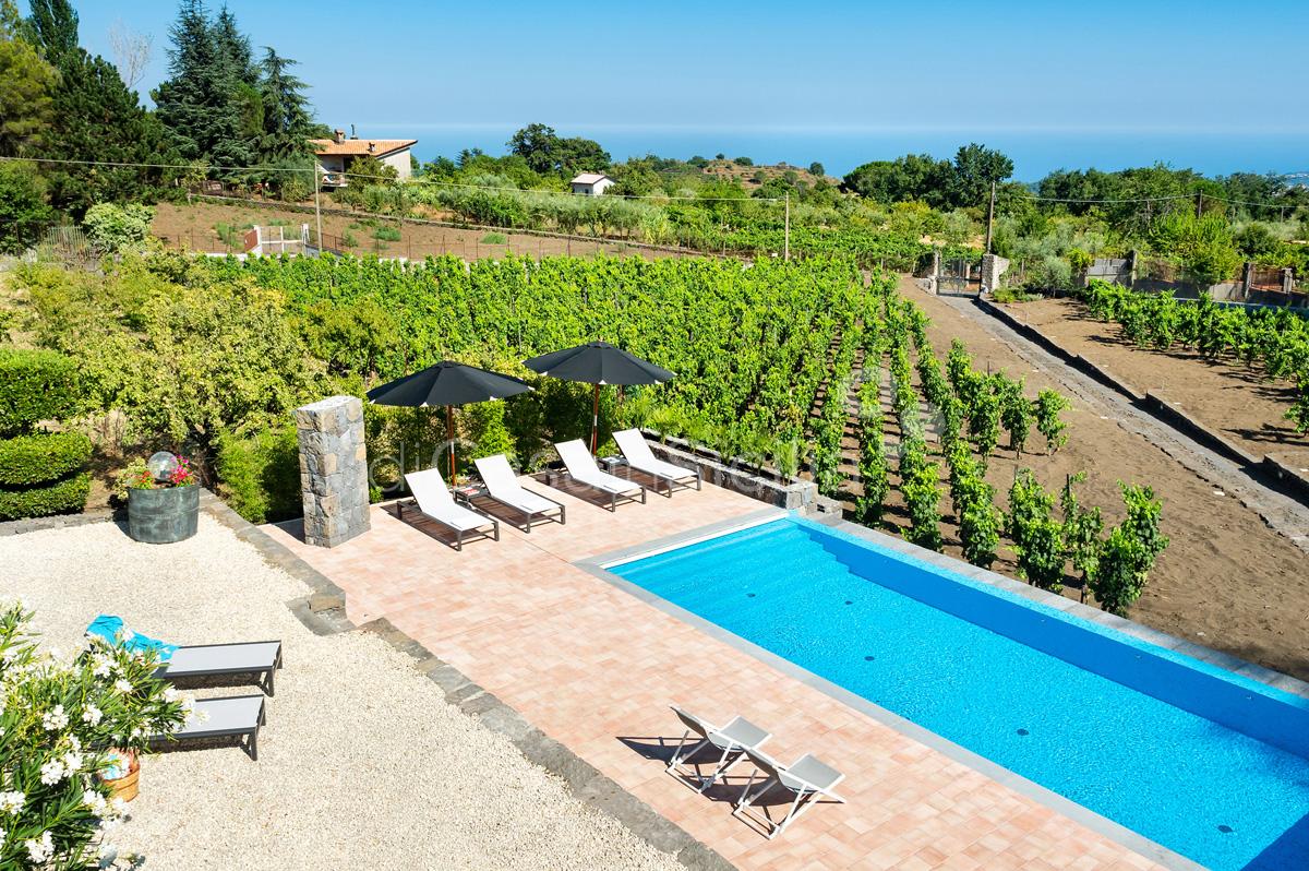 Palmento La Rosa Villa con Piscina in affitto sull'Etna Sicilia - 3