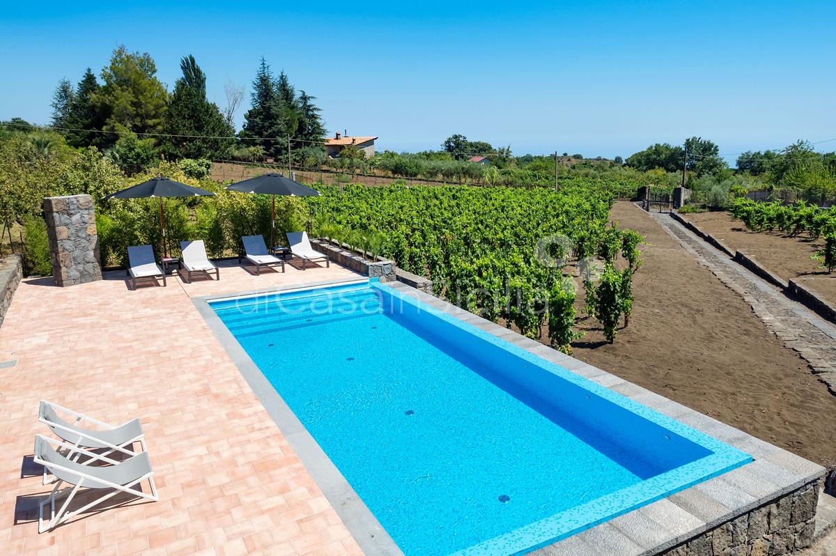 Palmento La Rosa Sicily Villa Rental with Pool Trecastagni Mount Etna - 4