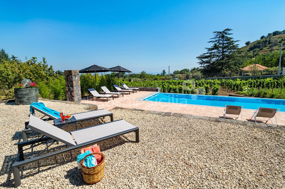 Palmento La Rosa Sicily Villa Rental with Pool Trecastagni Mount Etna - 5