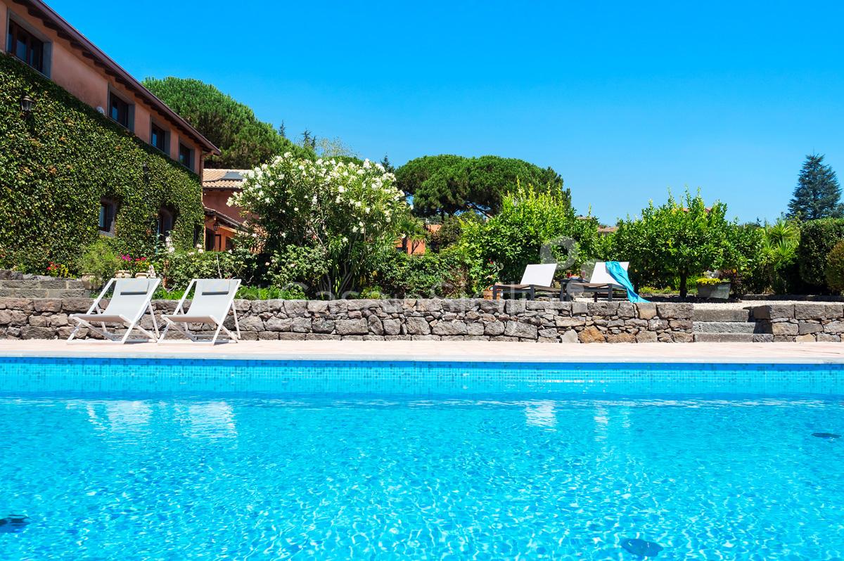 Palmento La Rosa Sicily Villa Rental with Pool Trecastagni Mount Etna - 7