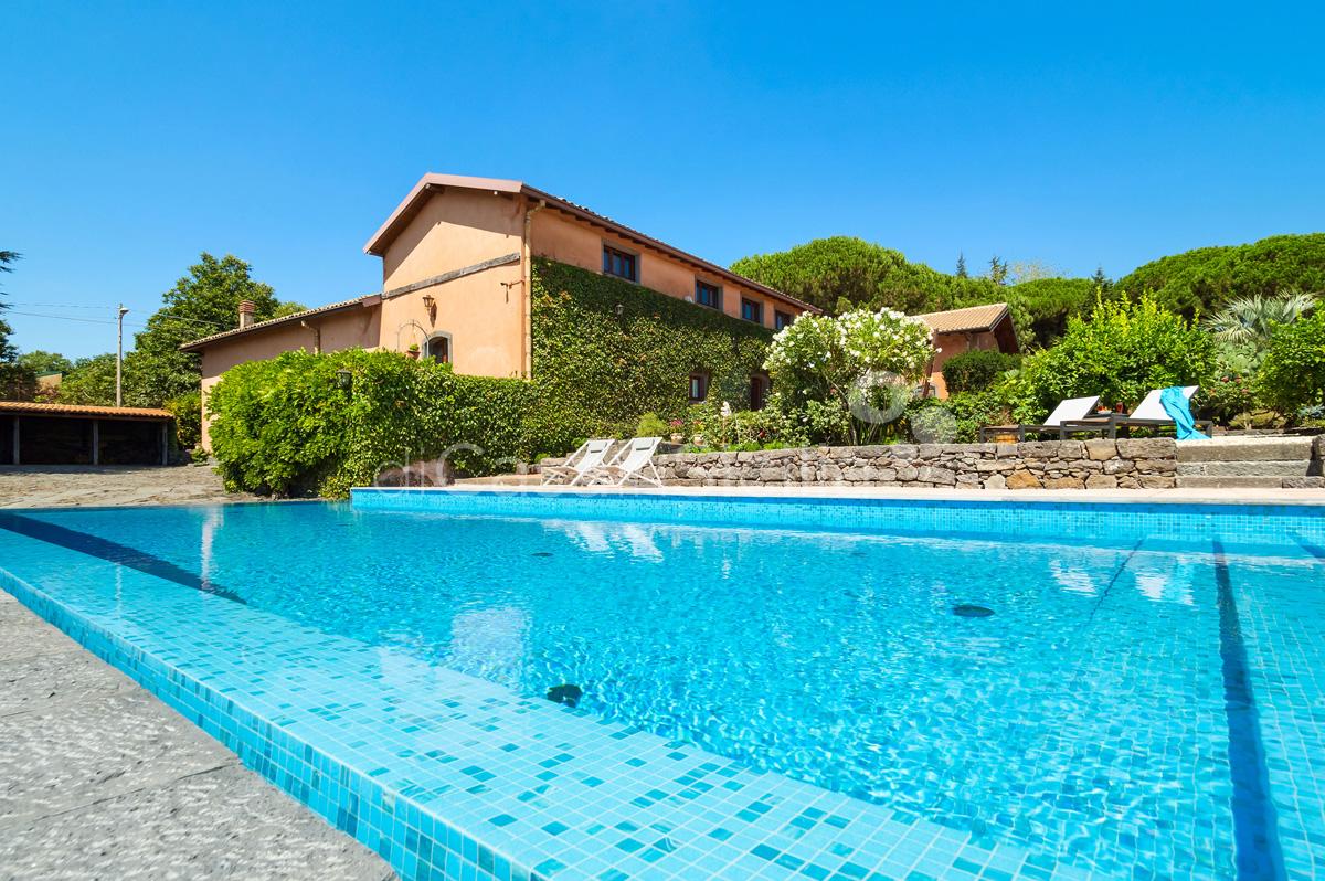 Palmento La Rosa Sicily Villa Rental with Pool Trecastagni Mount Etna - 8